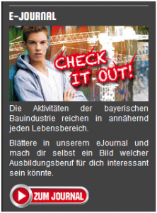 Check it out - Jugendinitiative in der Bauindustrie